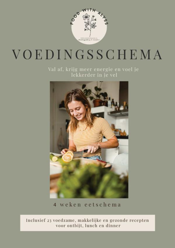Afvallen met een 4 weken voedingsschema - Voedingsadvies Alkmaar en omgeving